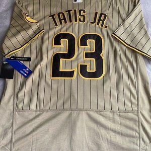 Fernando Tatis Jr San Diego Padres Tan Jersey
